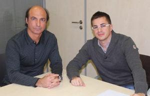 Construcciones Almozara 2000 renueva su apoyo al equipo de triatlón