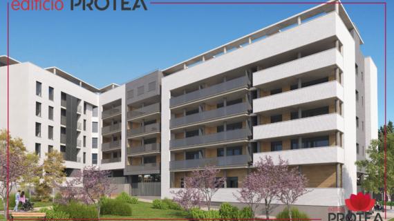 Almozara 2000 presenta su nueva promoción en Zaragoza: Edificio Protea